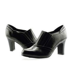 Karen Scott Ankle Boot Synthetic Black Size 9.5